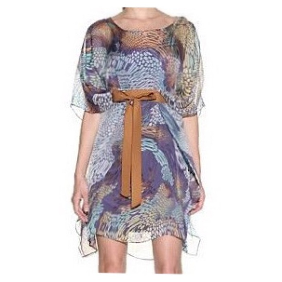 Badgley Mischka Dresses & Skirts - Badgley Mischka Silk Dress